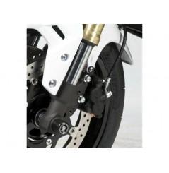Roulettes de protection de fourche R&G pour Suzuki GSR750 (11-16)