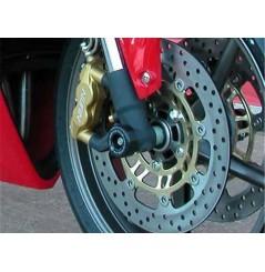 Roulettes de protection de fourche R&G pour Triumph 675 Daytona et Street Triple (06-12)