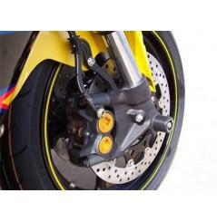 Roulettes de protection de fourche R&G pour Yamaha R6 - R1 (02-16)