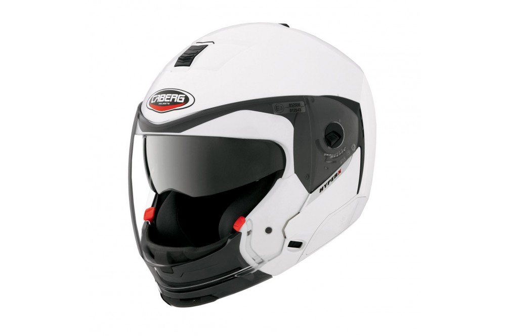 casque moto modulable caberg hyperx blanc street moto piece. Black Bedroom Furniture Sets. Home Design Ideas