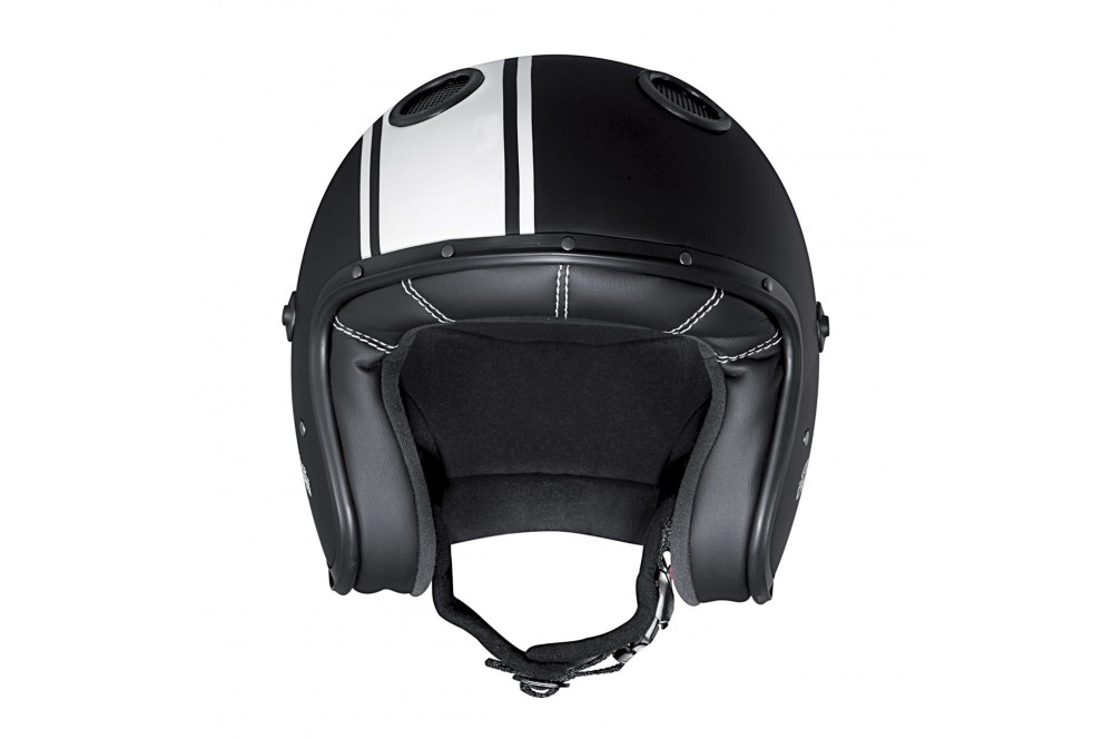 Casque Jet Caberg DOOM LEGEND Noir - Blanc