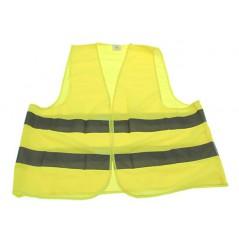 Gilet moto de sécurité réfléchissant jaune, Norme CE