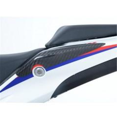Sliders de coque arrière Carbone R&G pour Honda CBR500R (13-15)