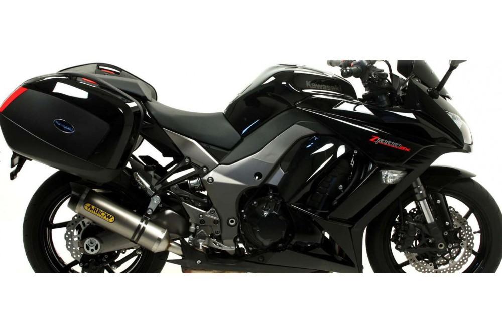 silencieux arrow street thunder pour z1000sx 11 16 street moto piece. Black Bedroom Furniture Sets. Home Design Ideas