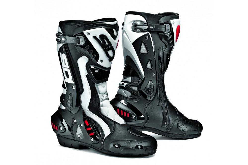 Bottes Moto Racing SIDI ST Noir - Blanc