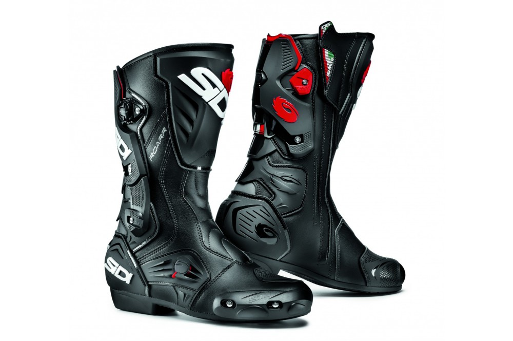 bottes moto racing sidi roarr noir street moto piece. Black Bedroom Furniture Sets. Home Design Ideas