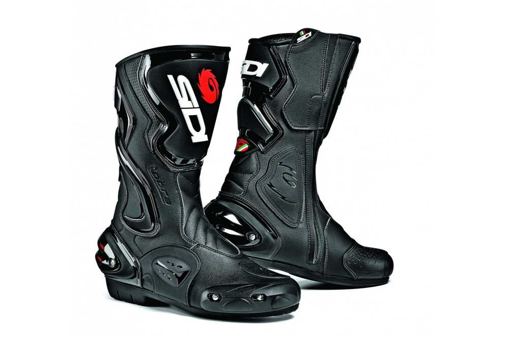 bottes moto racing sidi cobra noir street moto piece. Black Bedroom Furniture Sets. Home Design Ideas