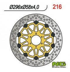 Disque de frein avant Honda CBR 600 F 95/98, VFR 750 94/98, CBR 900 RR 94/97, VTR 1000 F 97/07