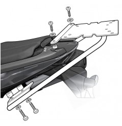 Support Top Case Shad pour Tiger Sport 1050 (13-15)