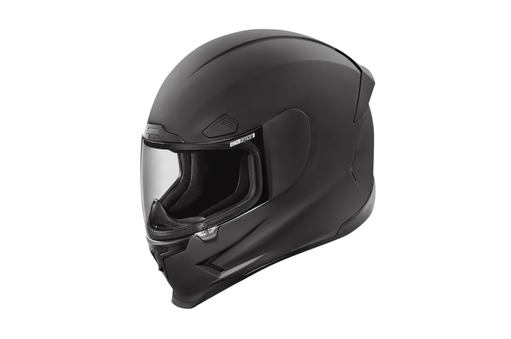 casque moto icon airframe pro rubatone noir mat street moto piece. Black Bedroom Furniture Sets. Home Design Ideas