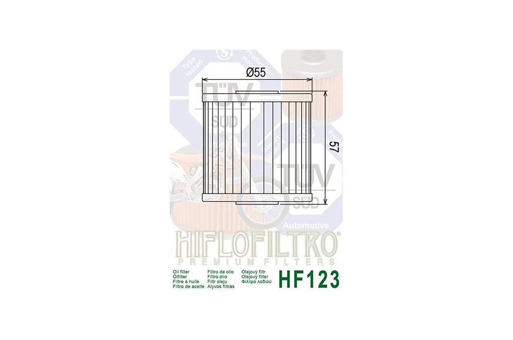 Filtre à huile Moto HF123