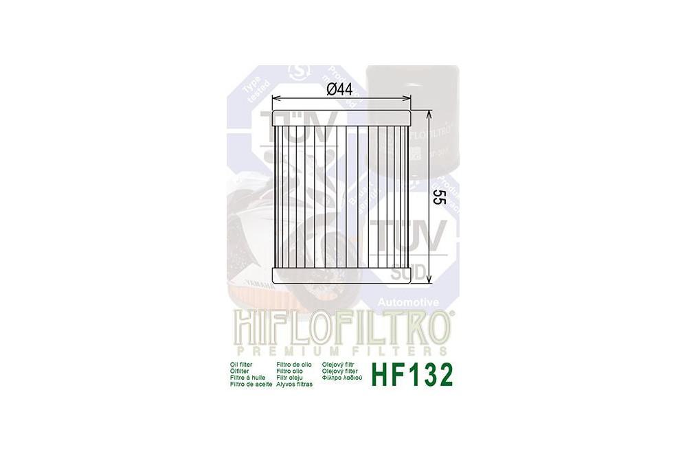 Filtre à Huile Moto HF132