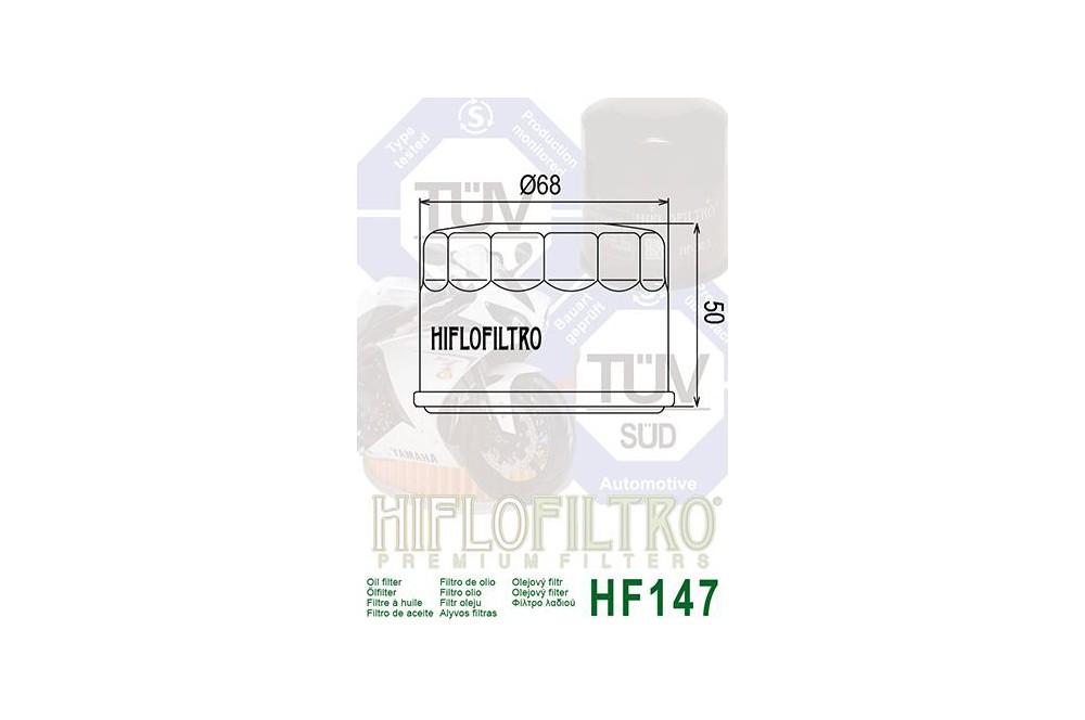 Filtre à huile Moto HF147
