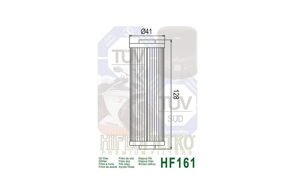 Filtre à Huile Moto HF161