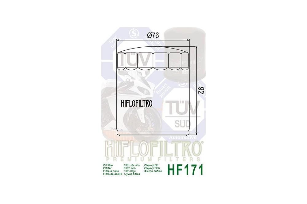 Filtre à Huile Moto HF171B
