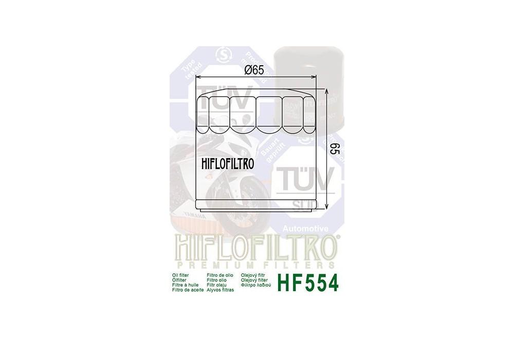 Filtre à Huile Moto HF554