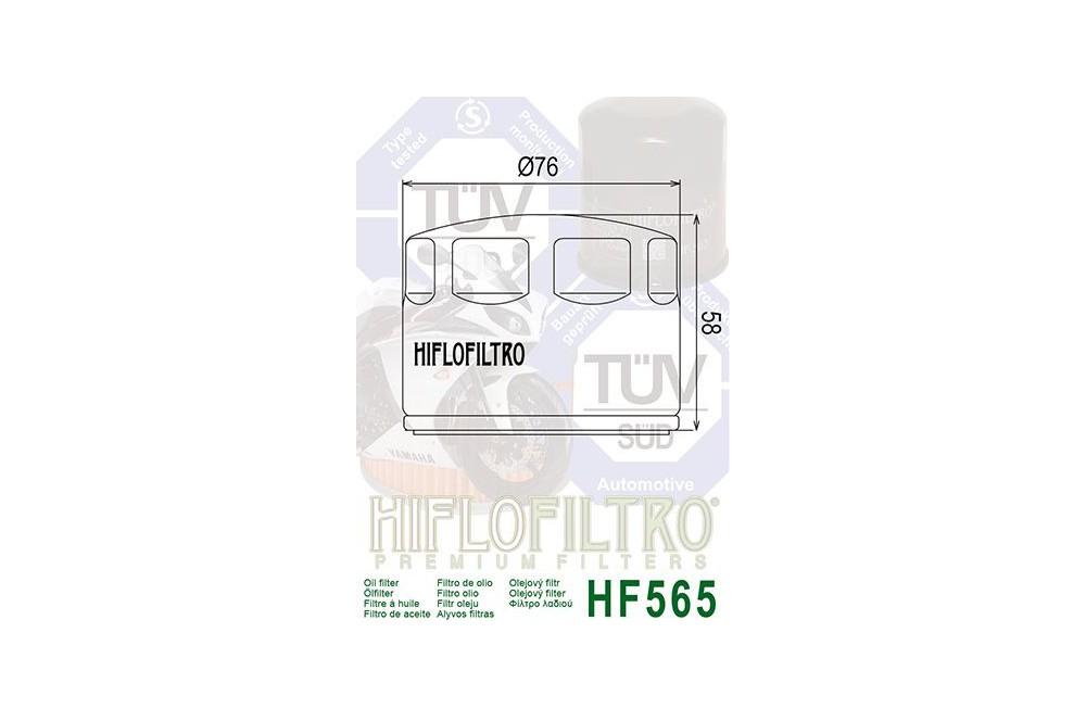 Filtre à Huile Moto HF565