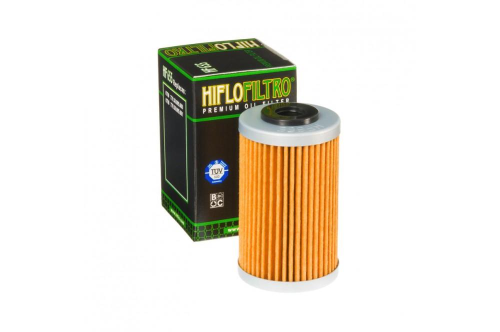 Filtre à Huile Moto HF655