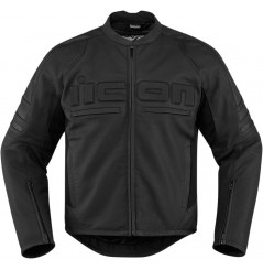 Blouson Cuir Moto Homme ICON Motorhead 2 Noir
