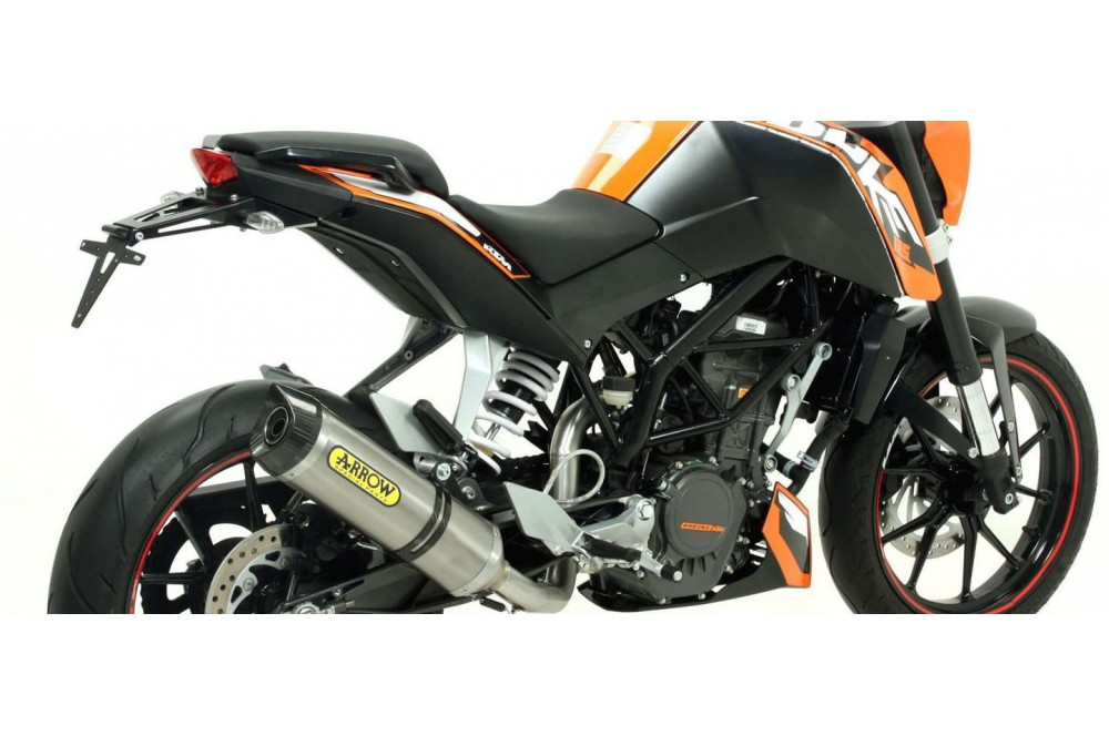 silencieux arrow street thunder pour duke 125 11 16 street moto piece. Black Bedroom Furniture Sets. Home Design Ideas