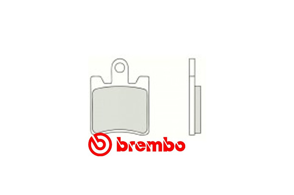 Plaquette de frein Avant Brembo 07YA09.SA