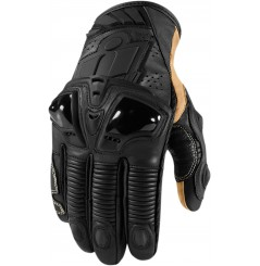 Gants Moto Racing ICON Hypersport Pro Court Noir