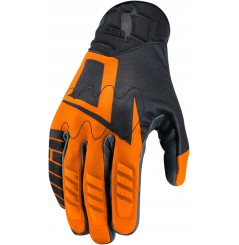 Gants Moto Été ICON Wireform Orange