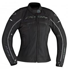 Blouson Moto Femme Ixon PITRACE LADY Noir