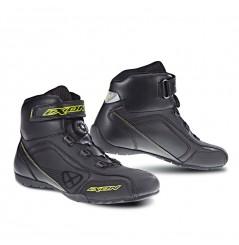 Chaussure Racing Moto Ixon Assault Noir - Jaune