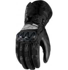 Gants Moto Hiver ICON Patrol Waterproof noir