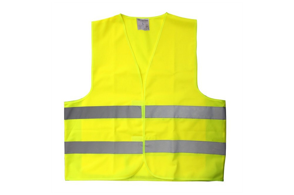 gilet haute visibilt moto r fl chissant jaune fluo street moto piece. Black Bedroom Furniture Sets. Home Design Ideas