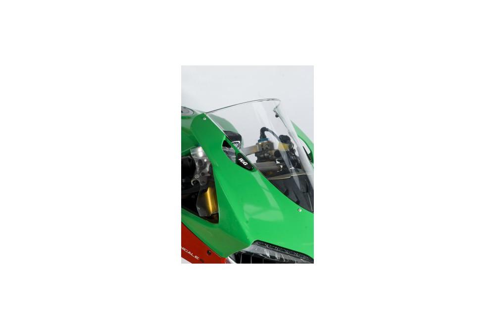 Cache Orifice de Rétrovieur R&G Pour 1199 Panigale (12-13)