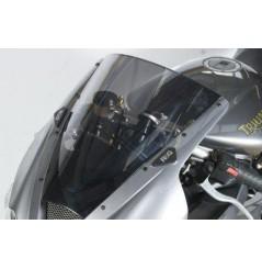 Cache Orifice de Rétroviseur Moto R&G Pour 675 Daytona (06-12)