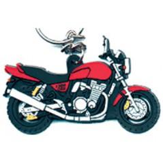 Porte-Clefs 2D SUZUKI GSX 1200 Rouge
