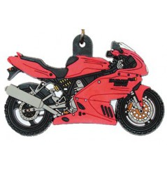 Porte-Clefs 2D DUCATI SUPERSPORT Rouge