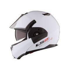Casque Moto Modulable LS2 FF393 CONVERT SOLID Blanc