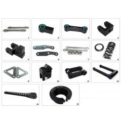 Kit Rabaissement -25mm Yamaha FZ8 Fazer (10-16)