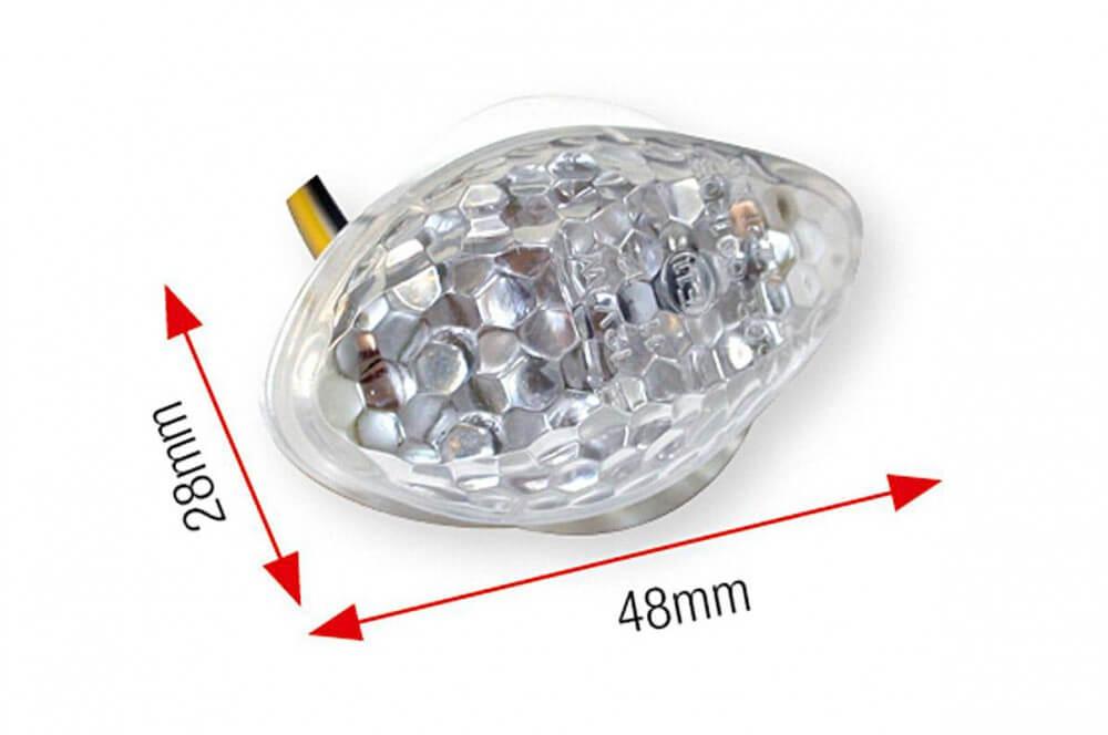 Clignotant LED de Carénage Moto Honda