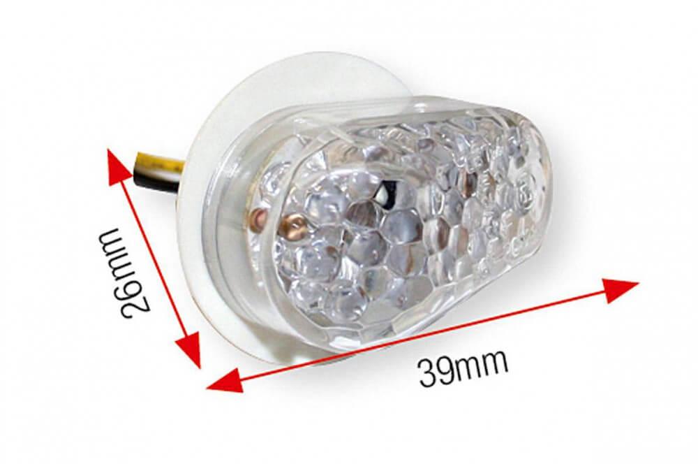 Clignotant LED de Carénage Moto Yamaha