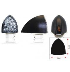 Clignotant LED Moto Homologué PROFIL Noir