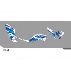 Kit Déco KUTVEK Pour Quad Yamaha RAPTOR YFM 250 R (07-14)