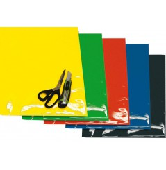 Planches Adhésives CRYSTALL Standard Jaune Fluo Moto / Quad