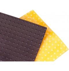 Planches Adhésives Noir RENTHAL Picots Long Moto / Quad