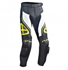 Pantalon Cuir Moto Ixon ORCUS PANT Noir - Blanc - Jaune