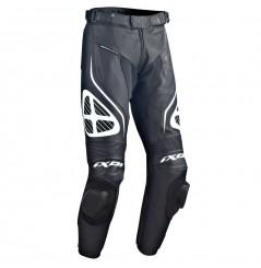 Pantalon Cuir Moto Ixon ORCUS PANT Noir - Blanc