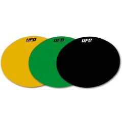 Fond de plaques adhésif pour plaques ovales UFO