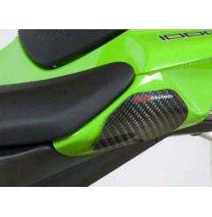Sliders de coque arrière Carbone R&G pour ZX10R de 2016