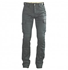 Pantalon Jeans Moto Ixon OWEN FLASH Noir