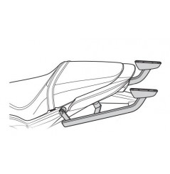 Support Top Case Shad pour CB650F (14-16) CBR650R (14-16)