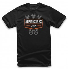 T-Shirt Alpinestars SHIFT Noir